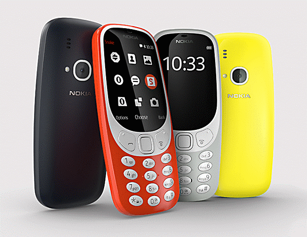 KHWS Blog: Tap into the past, Nokia 3310